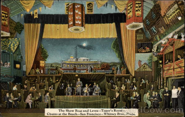 The Show Boat and Levee - Topsy's Room San Francisco California