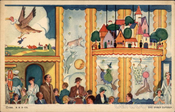 A Century of Progress- Troy Town Tavern 1933 Chicago World Fair