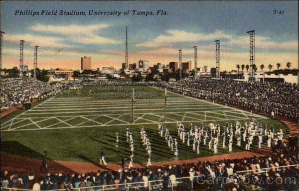 Phillips Field Stadium, University of Tampa Florida