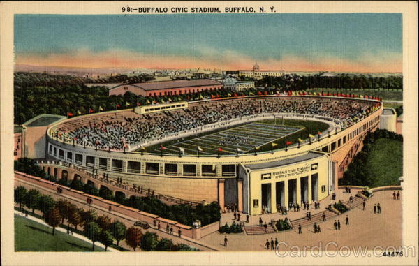 Buffalo Civic Stadium New York