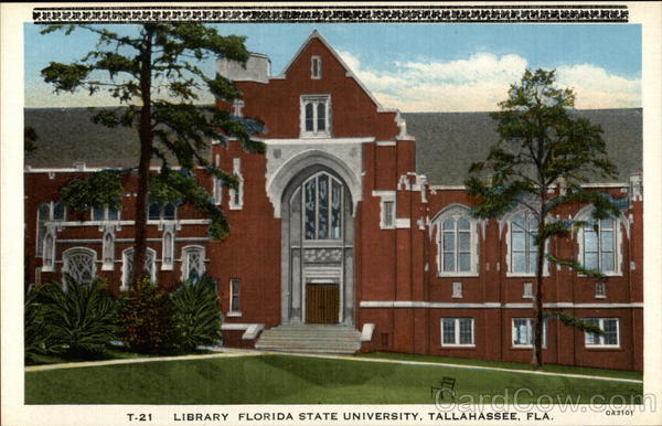 Library, Florida State University Tallahassee