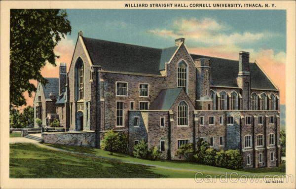 Williard Straight Hall, Cornell University Ithaca New York