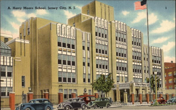A. Harry Moore School Jersey City New Jersey