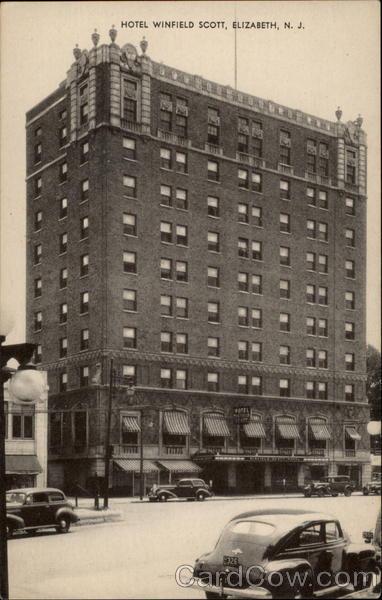 Hotel Winfield Scott Elizabeth New Jersey