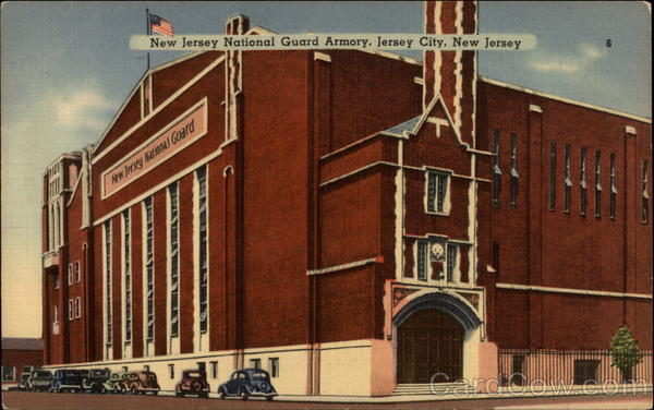 New Jersey National Guard Armory Jersey City