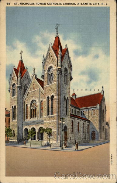 St. Nicholas Roman Catholic Church Atlantic City New Jersey