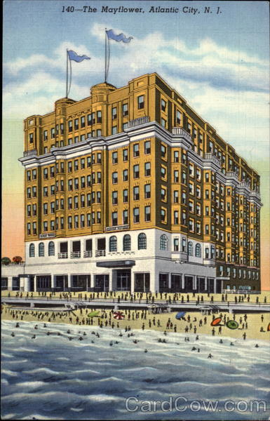 Atlantic City Hotels >> The Mayflower Hotel Atlantic City, NJ
