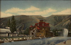 Bath House, Clinic and Warm Water Swimming Pool at Glenwood Springs
