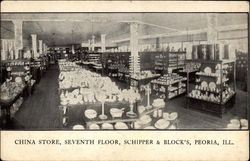 China Store, Seventh Floor, Schipper & Block's