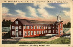 Old Slater Mill, oldest Cotton Mill in the United States