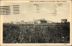 Cement Plant: The Cement Town of America