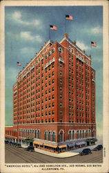"""Americus Hotel"", 6th and Hamilton Sts"
