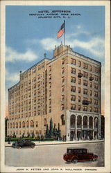 Hotel Jefferson Postcard