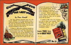 Gun Feud to the Last Man by Oren Arnold