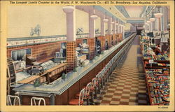 The Longest Lunch Counter in the World. F. W. Woolworth Co
