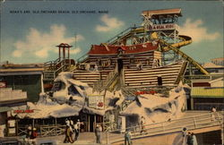 Noah's Ark, Old Orchard Beach Postcard