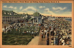 Casino, Band Stand, Ocean House and Bathing Beach