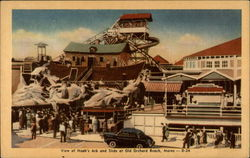 View of Noah's Ark and Slide Postcard