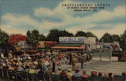 Shuffleboard Courts at Hoke's Ocean Breeze Park