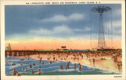 Parachute Jump, Beach and Boardwalk