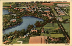 Aerial View of Notre Dame University