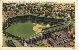 Forbes Field, Schenley Park, Home of the Pittsburgh Pirates