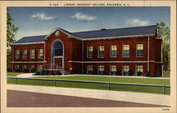 Benedict College - Library Postcard
