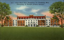 Tom Reed Hall, Dormitory for Freshman Men, University of Georgia