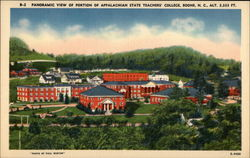 Panoramic View of Portion of Appalachian State Teachers' College