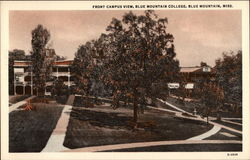 Front Campus View, Blue Mountain College