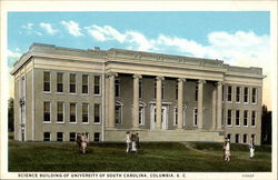 Science Building of University of South Carolina Postcard