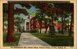 Administration Bldg. Redford College, Women's Division of V.P.I
