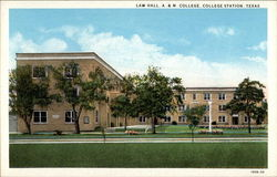 Law Hall at A & M College