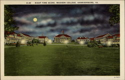 Madison College - Night Time Scene