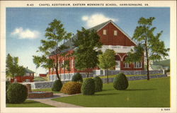 Chapel Auditorium, Eastern Mennonite School