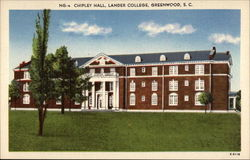 Chipley Hall, Lander College Postcard