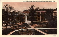 Whitfield Hall, Blue Mountain College