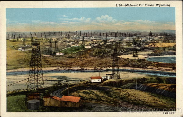 1120-Midwest Oil Fields, Wyoming