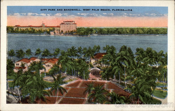 City Park and Bandshell West Palm Beach Florida