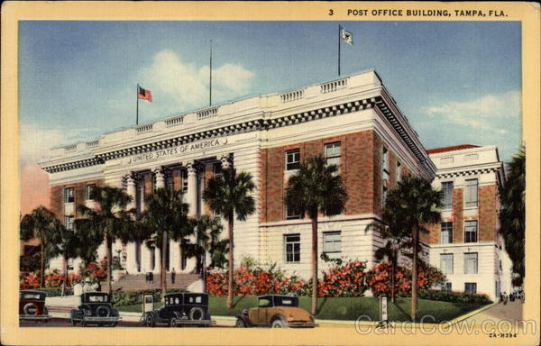 Post Office Building Tampa Florida