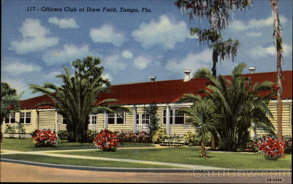 Officers Club at Drew Field Tampa Florida