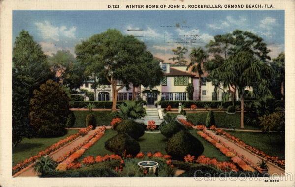 John D Rockefeller Home Ormond Beach Fl