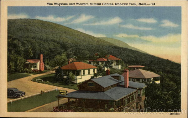 The Wigwam and Western Summit Cabins Mohawk Trail Massachusetts