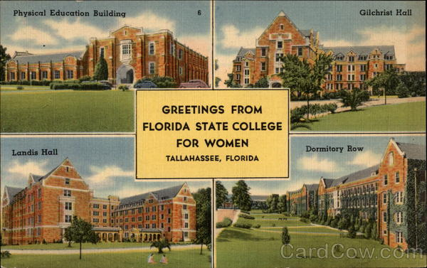 Greetings from Florida State College for Women Tallahassee
