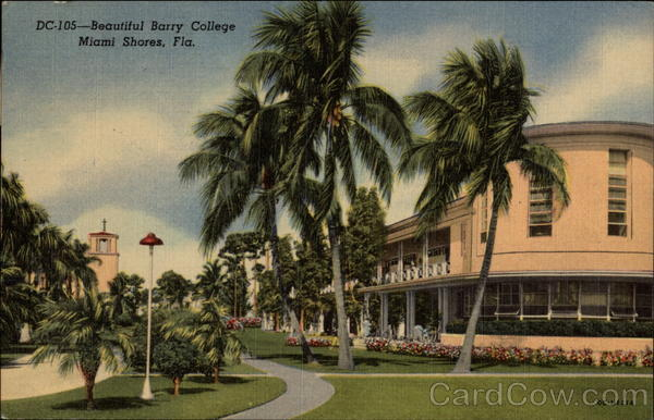 Beautiful Barry College Miami Shores Florida