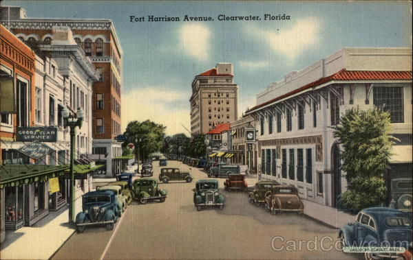 Fort Harrison Avenue Clearwater Florida