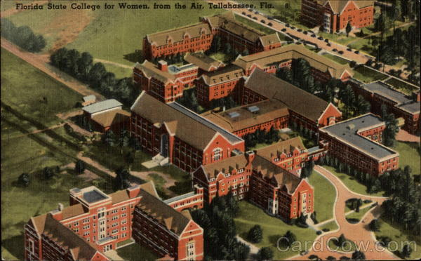 Florida State College for Women seen from the Air Tallahassee