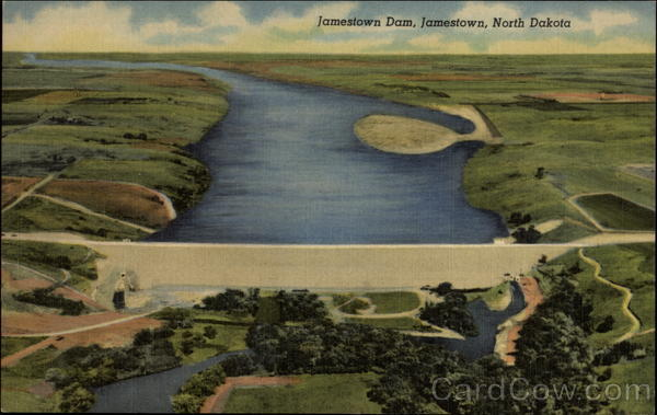 Jamestown Dam North Dakota