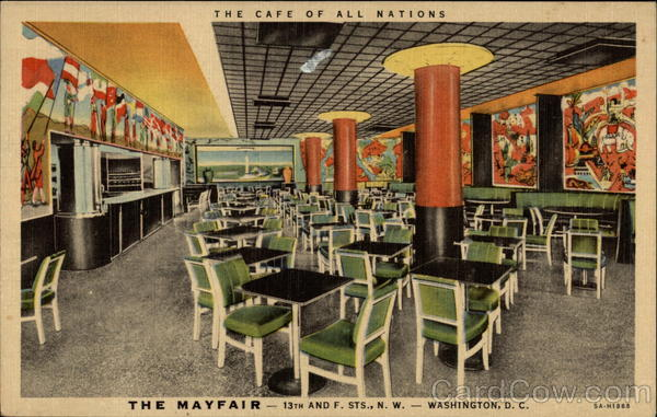 The Cafe of all nations The Mayfair Washington District of Columbia