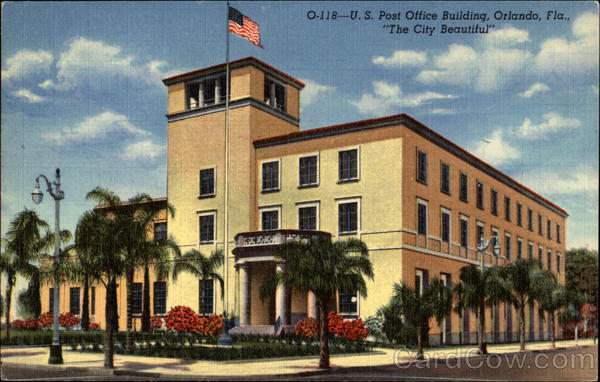 Post Office Building The City Beautiful Orlando Florida